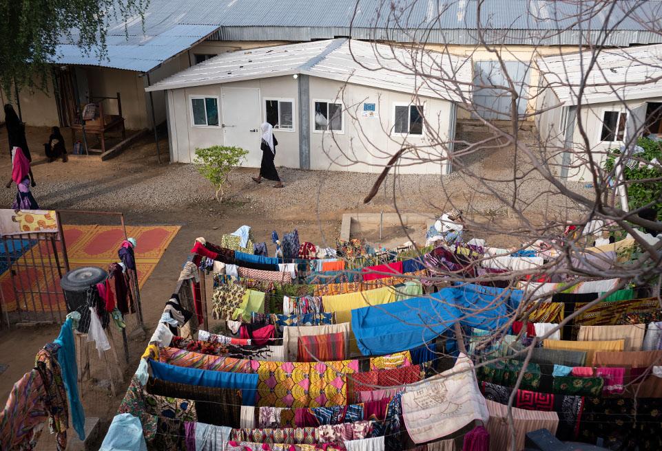 Vie quotidienne à l'UNT de Ndjamena