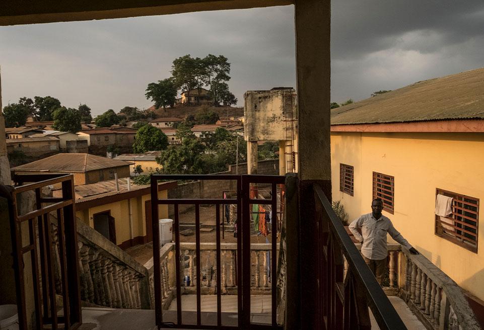 ALIMA travaille dans la région de N'Zérékoré depuis décembre 2014.