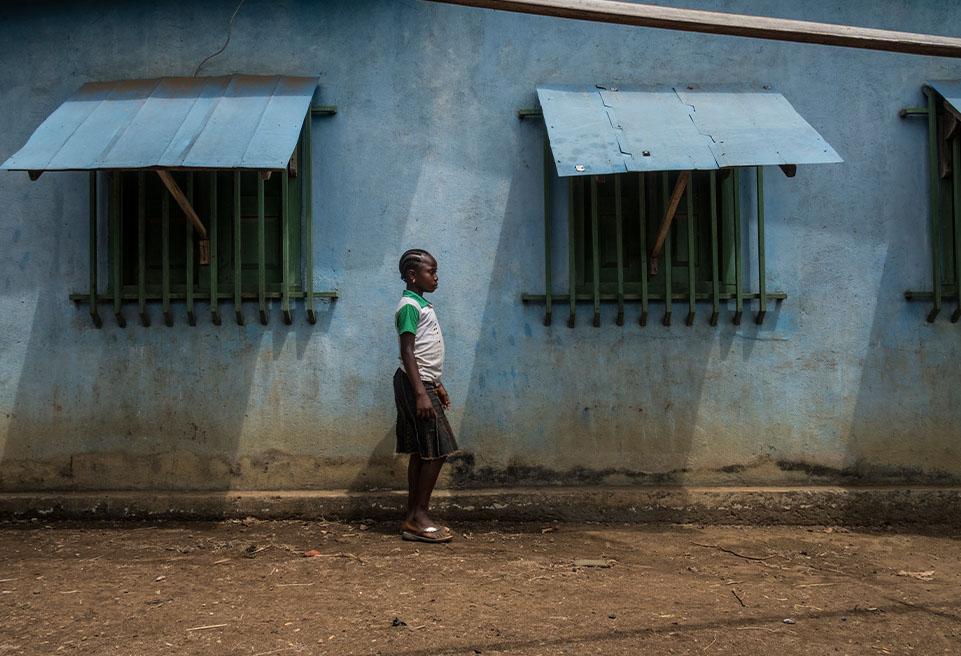 Tonhon Bolamou est une survivante du virus Ebola qui a été traitée au centre de traitement Ebola géré par l'ALIMA en avril 2016.