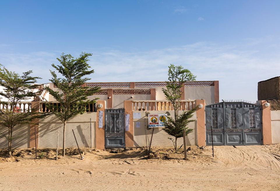Bureau d'ALIMA. Goundam, Mali.