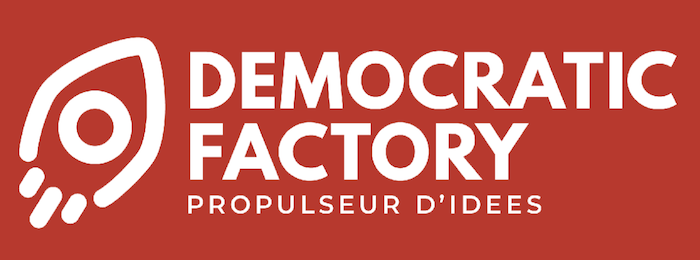 Logo start-up Democratic Factory